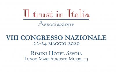VIII Congresso Nazionale Il Trust in Italia